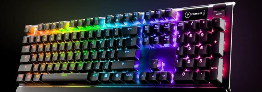 Farverigt mekanisk tastatur