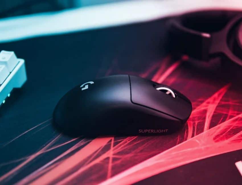 Sort trådløs gamer mus